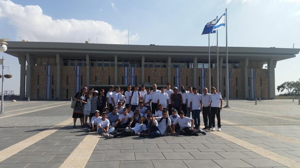 תלמידי אמית עולים מצרפת