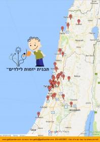 מפה תוכנית העשרה